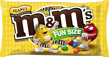 M&M's Peanuts (Fun Size 8 Pack)