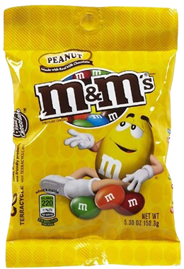 M&M's Peanut (Peg Pack)