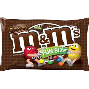 M&M's Plain (Choc Fun Size)