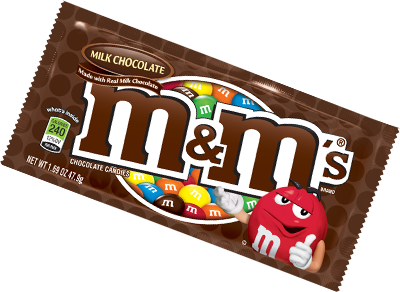 M&M's (Choc Single)