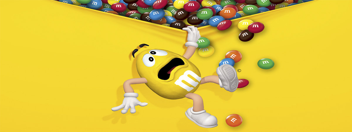 m&m yellow